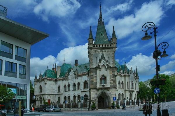 Slovakia, Košice - Jakab Palace