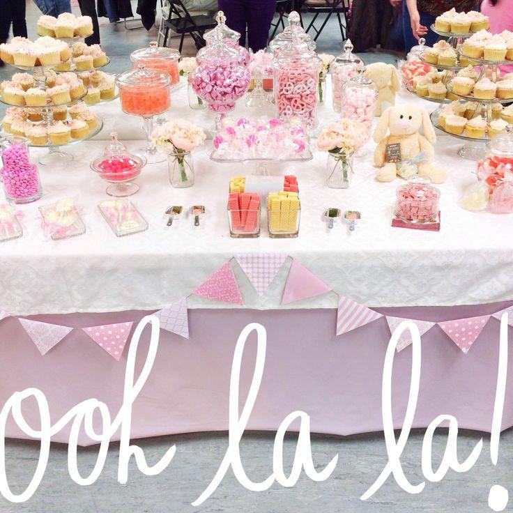 wedding shower candy buffet ideas%0A Girl baby shower candy bar cuteness
