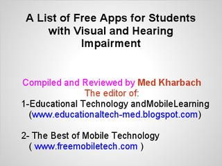 hearing and visual impairments essay Outline deaf and hearing impaired • physical structures of the ear and degrees of – tap on their shoulder, hand movement in the child's visual field, or a.