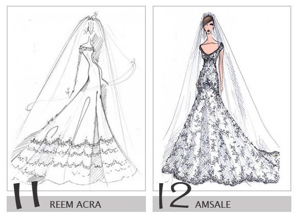 Pretty much my dream dress (on the right)