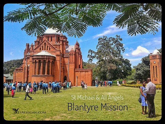 The best place to go for a short walk near the centre of Blantyre is on the historic Blantyre #Mission.  The area includes St Michael & All Angels HHI School Blantyre Synod offices & the historic graveyard with early missionary Commonwealth & German war graves.  #Blantyre ... #BlantyreMission #Malawi #fbp #tw #fb #missionaries #church #history #wargraves #HHI #CCAP #BlantyreSynod #BotanicalGardens #MalawiPlaces