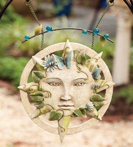Celestial garden plaque
