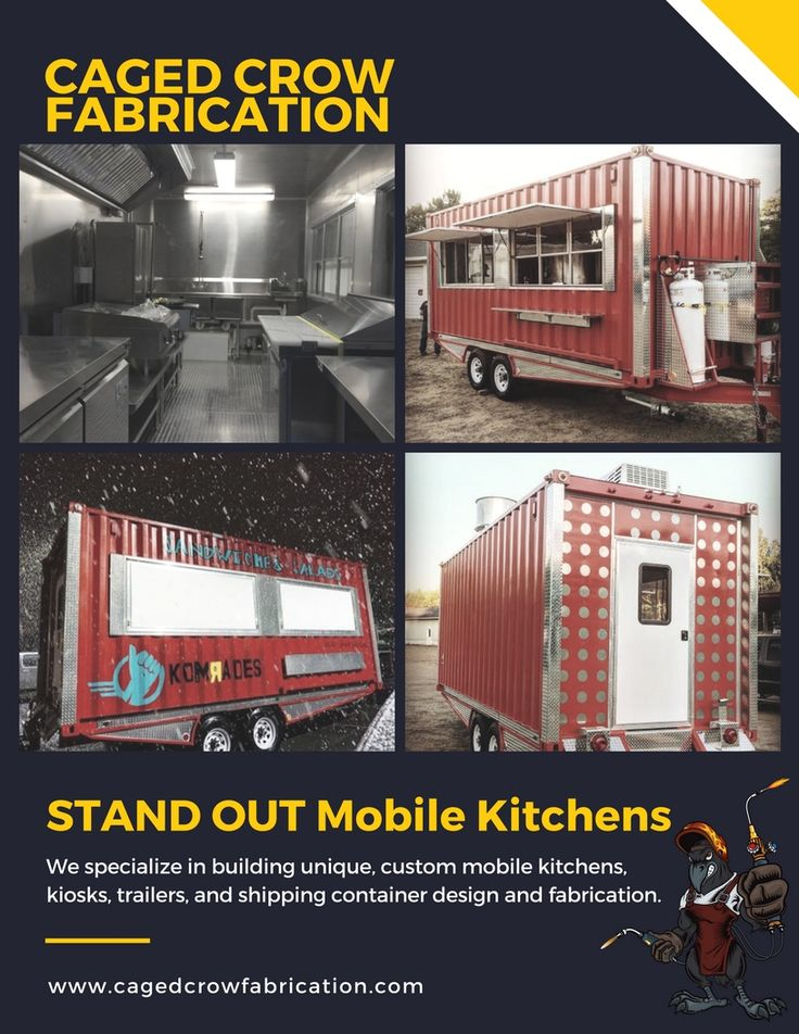 29 Best Concession Trailers Caged Crow Builds Images On