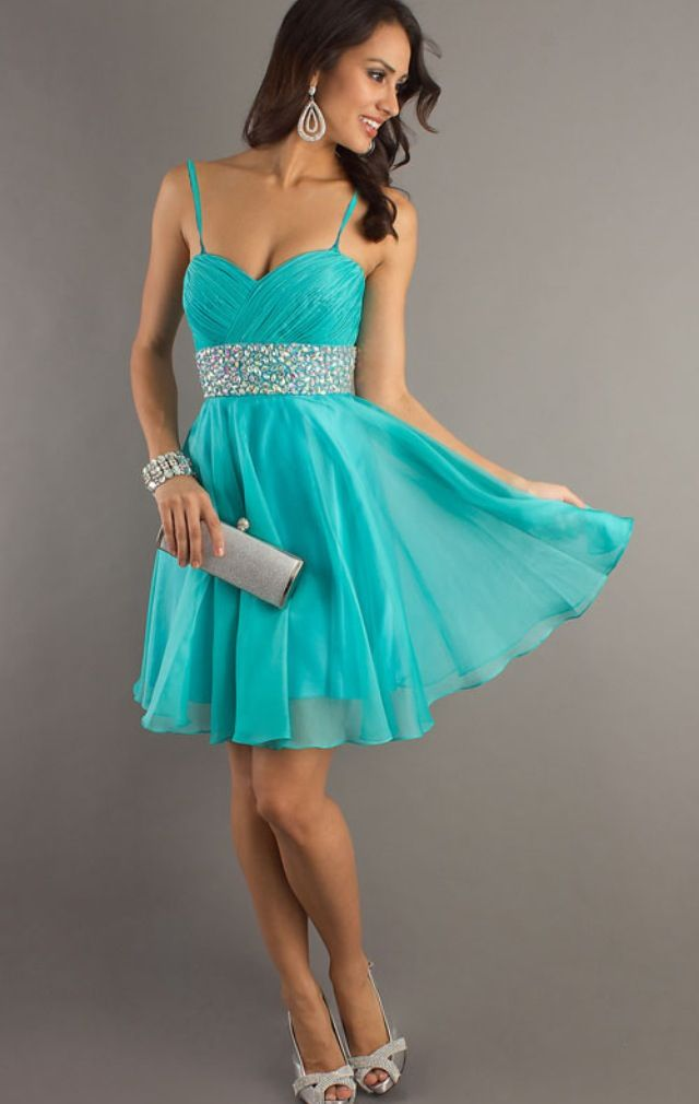 Love this blue! Homecoming dress 2016