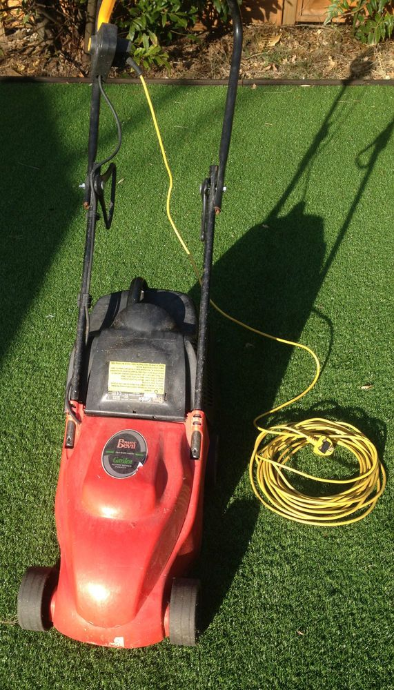 Power Devil Garden Rotary Lawn Mower PDG4031 Working Order