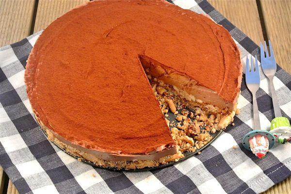 10 zoete recepten zonder oven - Laura's Bakery Nutella cheesecake