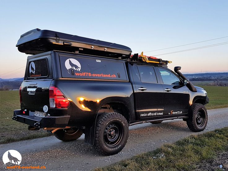 2017 Toyota 4Runner >> Toyota Hilux Revo 2017 2.4 Blackwolf Alucab offroad overland expedition 4x4 T-Max Hil-ift ARB ...