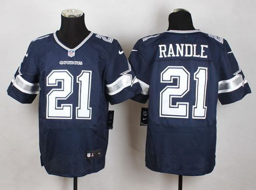 Nike Dallas Cowboys Jersey 21 Joseph Randle Navy Blue Team Color Men's Stitched NFL Elite jerseys