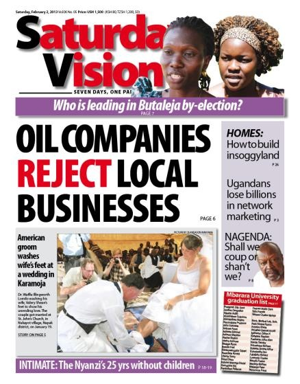 Newvision: Uganda's Leading Daily: International News, Uganda Leaded, Leaded Daily, News Sources