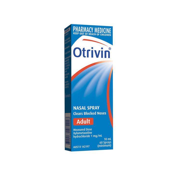 Otrivin® Blocked Nose Adult Nasal Spray Original 10ml
