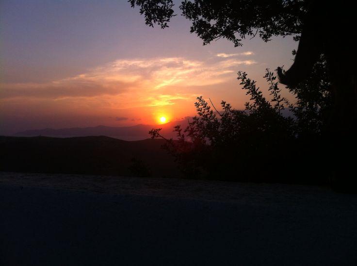 Kalivari andros sunset