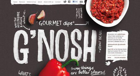 G'Nosh website