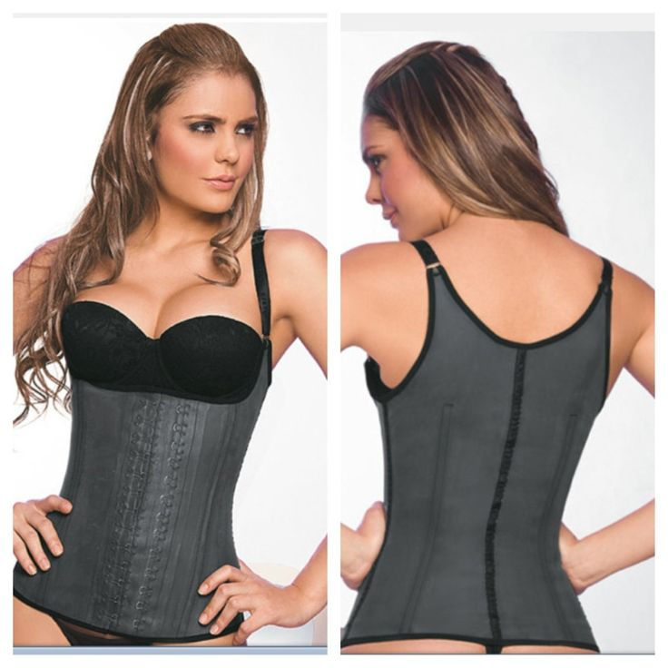 The Leila Vest is a superior body shaper that accelerates ...