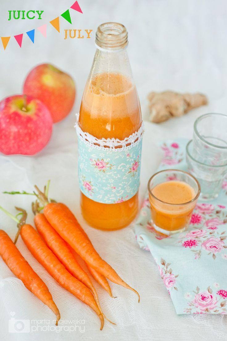Apple, carrot & ginger juice recipe + JUICER GIVEAWAY #juicyjuly (http://juicers-best.com/blogs/juice-recipes/tagged/ginger-juice-recipe)