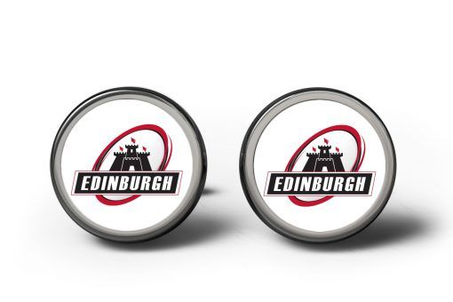 Edinburgh Rugby Cufflinks #cufflinks #rugby #sports #team #personalisedcufflinks