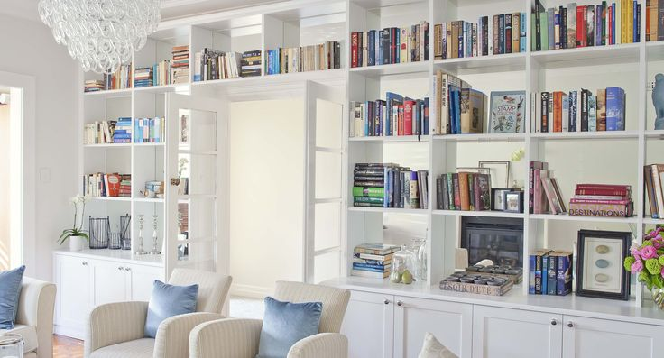 Home libraries to love