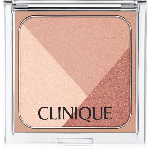Clinique Sculptionary Cheek Contouring Palette - Defining Nudes ($33) ❤ liked on Polyvore featuring beauty products, makeup, cheek makeup, beauty, cheeks, kosmetyki, defining nudes, long wear makeup, nude cosmetics and clinique cosmetics