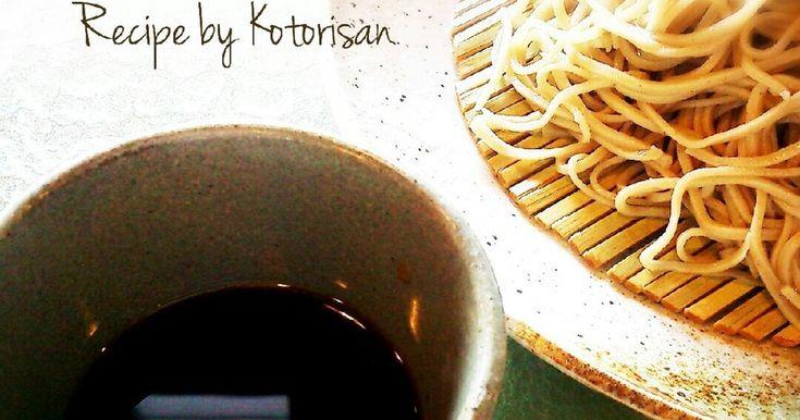 麺つゆはお家で簡単手作り♥ 市販のものとはひと味違います✨ 夏はざる蕎麦やざるうどん、素麺に。 冬はかけ用に。