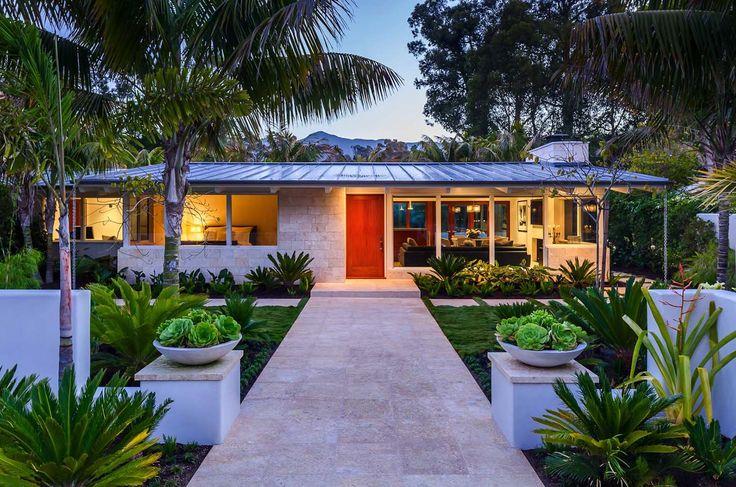Artfully redesigned mid-century beach villa in Montecito