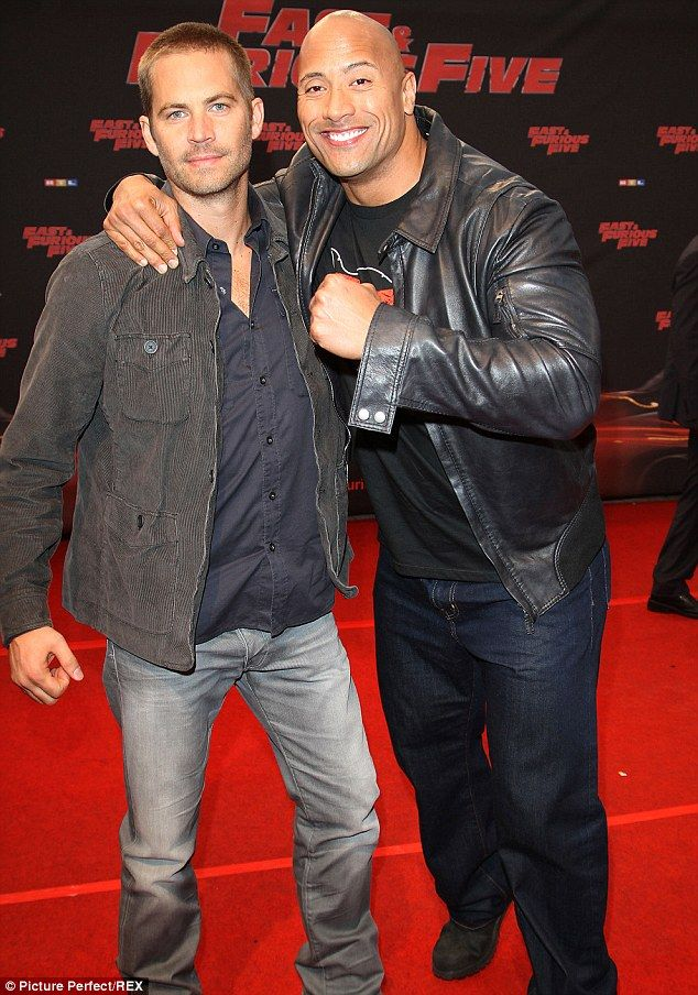 Dwayne Johnson opens up about shock of Paul Walker's death and dealing with depression | Mail Online