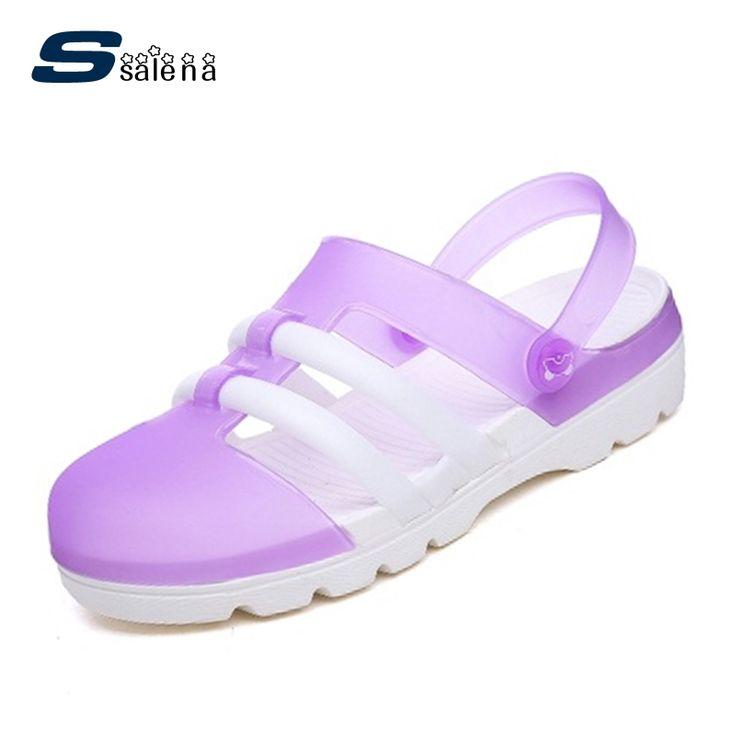 Beach Sandals Women Soft Footwear Classic Girls Jelly Shoes Summer Women Leisure Shoes AA20597 #Affiliate