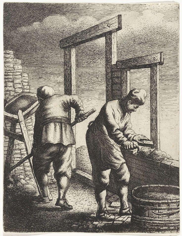 Jan Gillisz. van Vliet | Metselaars, Jan Gillisz. van Vliet, 1635 |