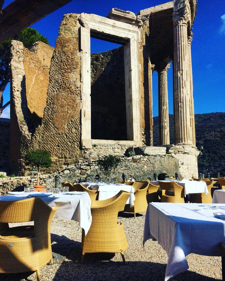#readytowork #restaurant #sibilla #ristorantelasibilla #tivoli #roma #rome #lunch #lunchtime #sun