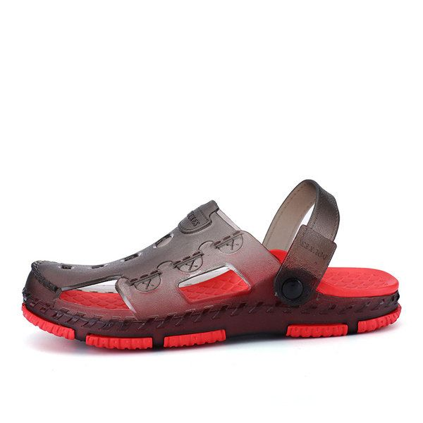 Men Hole Casual Outdoor Slipper Sandals Beach Shoes