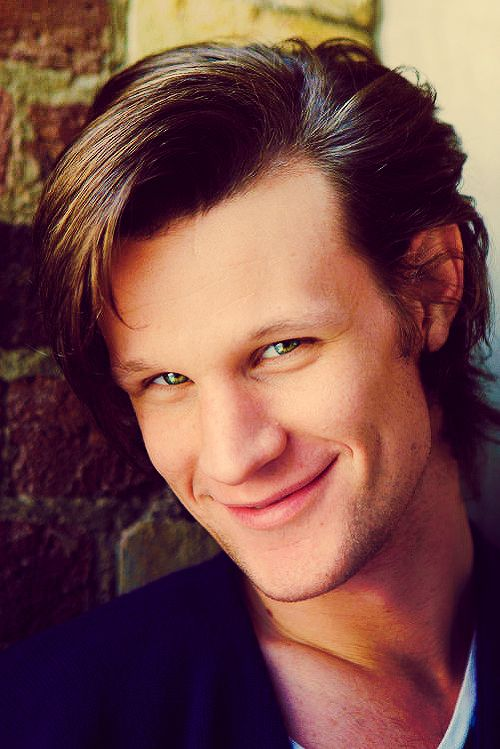 You don't really realize how beautiful one is until you get to know them. Then, they can be one of the most beautiful people in the world. Well, Matt Smith, you sure are one BEAUTIFUL man.