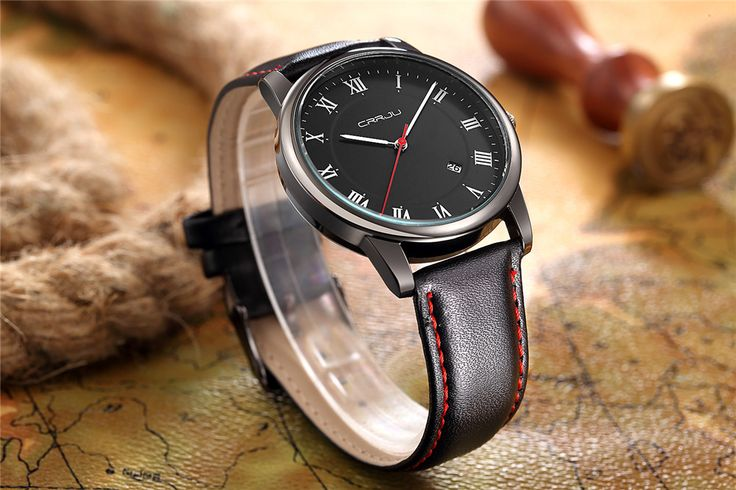 Mens Watches Top Brand Luxury Quartz Watch CRRJU Fashion Casual Business Watch Male Wristwatches Quartz Watch Relogio Masculino-in Quartz Watches from Watches on Aliexpress.com   Alibaba Group