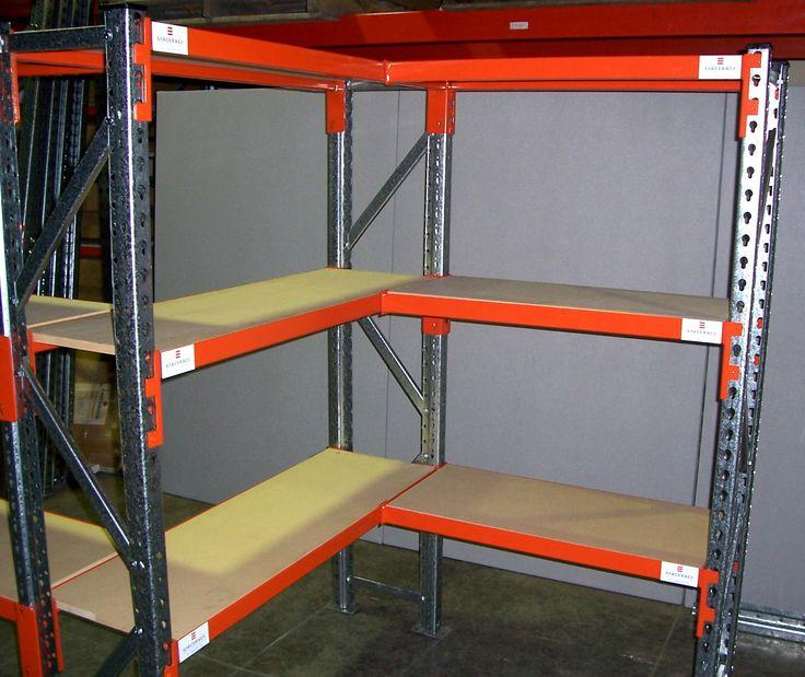 Spacerack Corner Shelves.