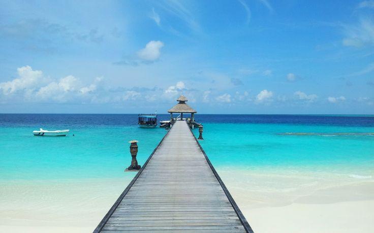 Wallpaper Viziteaza Maldivele