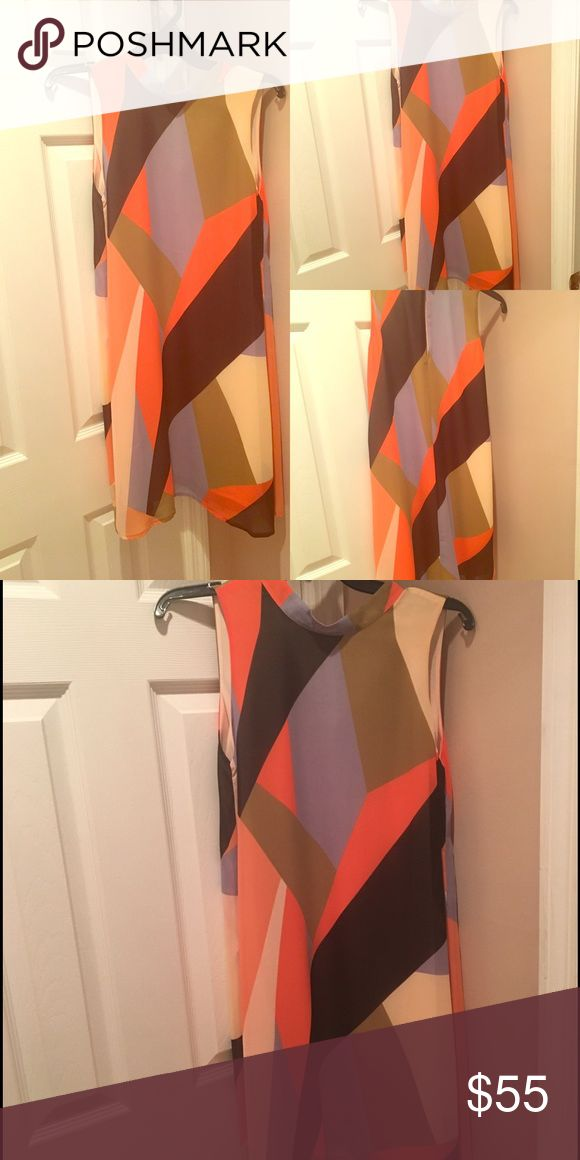Anthropologie's Brand Maeve Color Block Dress $50 Get ready for any event with this great dress!! Size M from Anthropologie only worn once! $50 Anthropologie Dresses