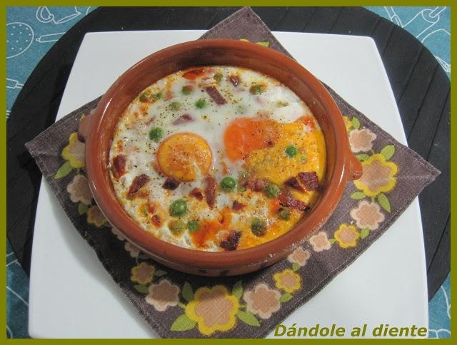 Dándole al diente: Huevos trufados al plato o a la flamenca