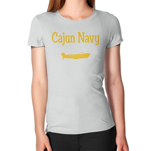 CAJUN NAVY YELLOW Women's T-Shirt