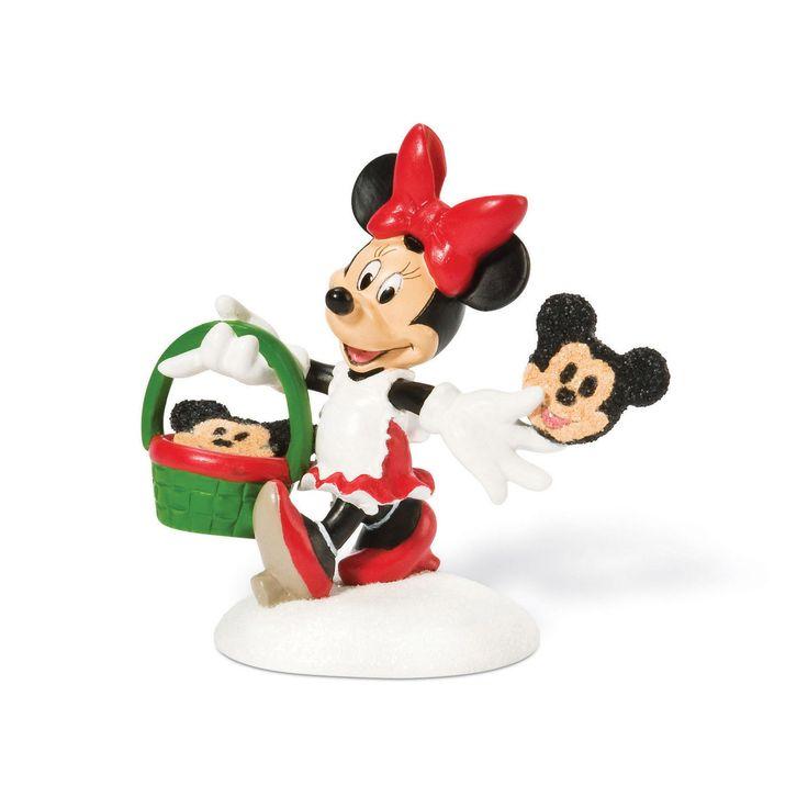 The Jolly Christmas Shop - Department 56 Disney Village Minnie's Custom Cookies Figure 811275, $19.50 (http://www.thejollychristmasshop.com/department-56-disney-village-minnies-custom-cookies-figure-811275/)