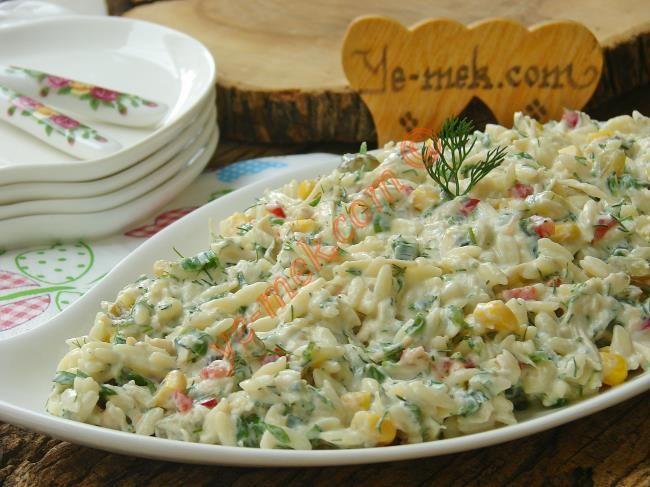 Yedikçe yedirten nefis bir salata tarifi...