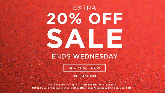 Long Tall Sally USA and Canada: Extra 20% off Sale