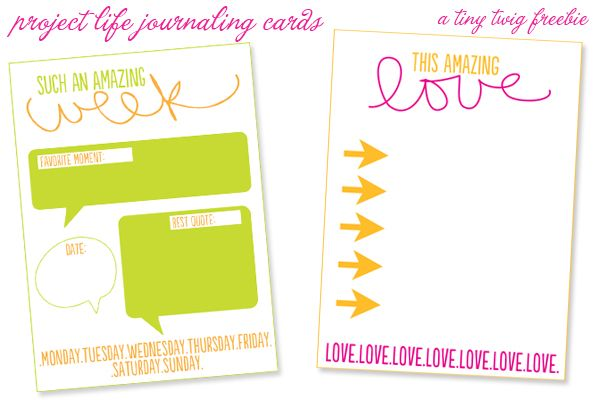 fun and free journaling cards for project life: Life Printables, Projects Life Freebies, Cars Collection, Project Life, Journals Cards, Cards Downloads, Free Printable, Projects Dreams, Free Journals