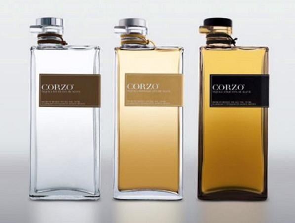 :: PACKAGING :: Corzo Tequilla Bottle Design & Branding -