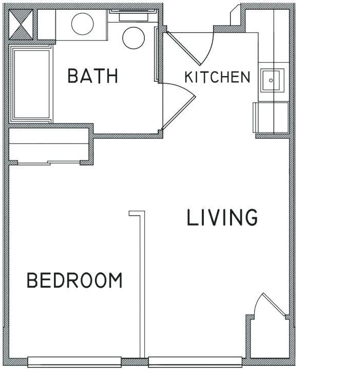 Found On Bing From Floorhomeplan Com Studio Apartment Floor Plans Floor Plans Apartment Floor Plan