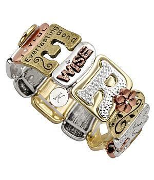 Perfect Gifts for Moms from Daughter — Kathln. Sentiment Tile Bracelet.