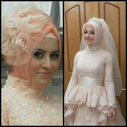 lace#hijab#wedding#dress