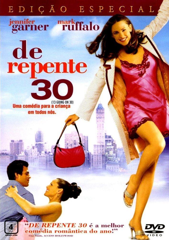 Um filme de Gary Winick com Jennifer Garner, Mark Ruffalo : Jenna Rink (Christa B. Allen) é uma garota que está descontente com sua própria idade, já que seus colegas mais populares da escola não lhe dão atenção, seus pais ficam sempre no seu pé e o garoto por quem está apaixonada nem sabe que ela existe. ...