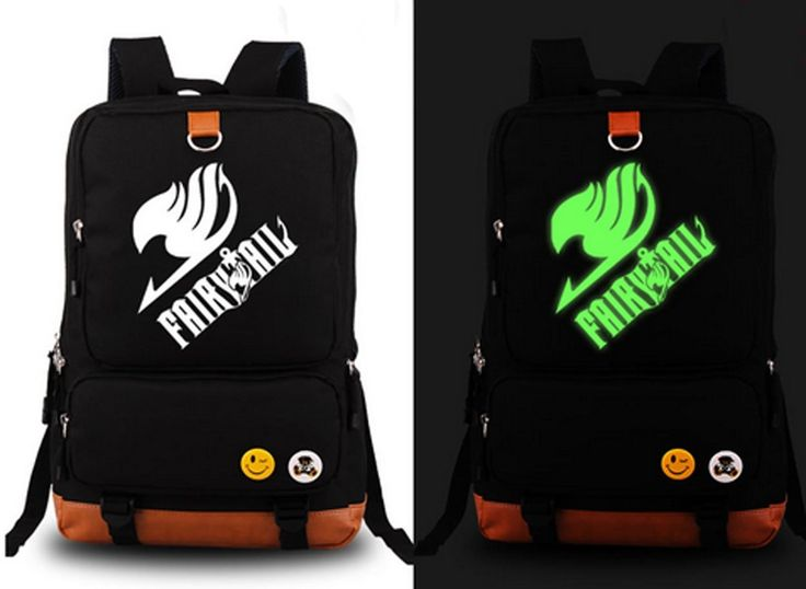Relaxcos Fairy Tail Association Logo Luminous Bag SchoolBag ** You can find more details by visiting the image link.