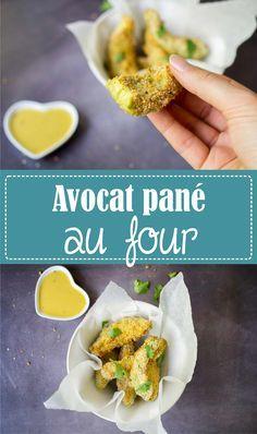 Une chouette recette originale d'avocat pané au four, recette rapide et facile sur la Godiche www.lagodiche.fr