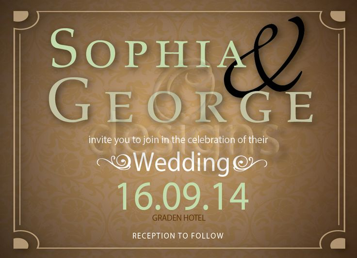 Wedding Digital Invitation No 2
