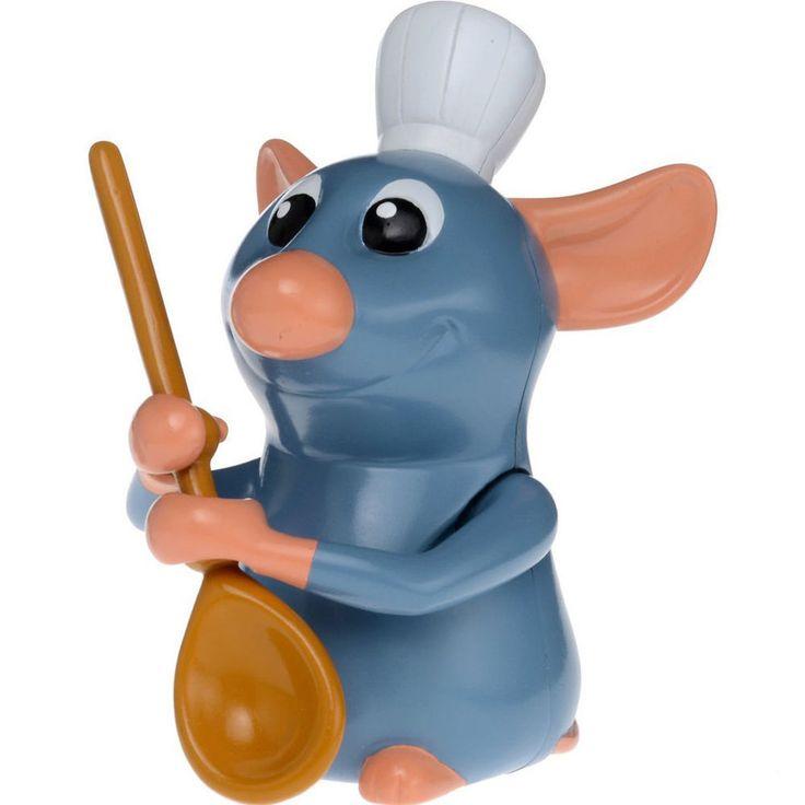 MOVIN MOVIN M-04 Ratatouille DISNEY PIXAR DUAL ACTION WIND UP FIGURE NEW #TakaraTomy