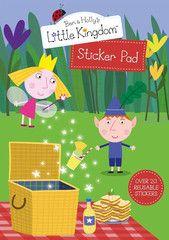 BEN & HOLLY'S LITTLE KINGDOM ~ Sticker Pad