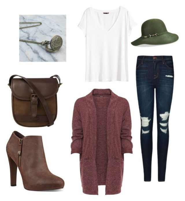 """casual"" by dilley818415 on Polyvore featuring J Brand, Nine West, DUBARRY, H&M, WearAll and Betmar"